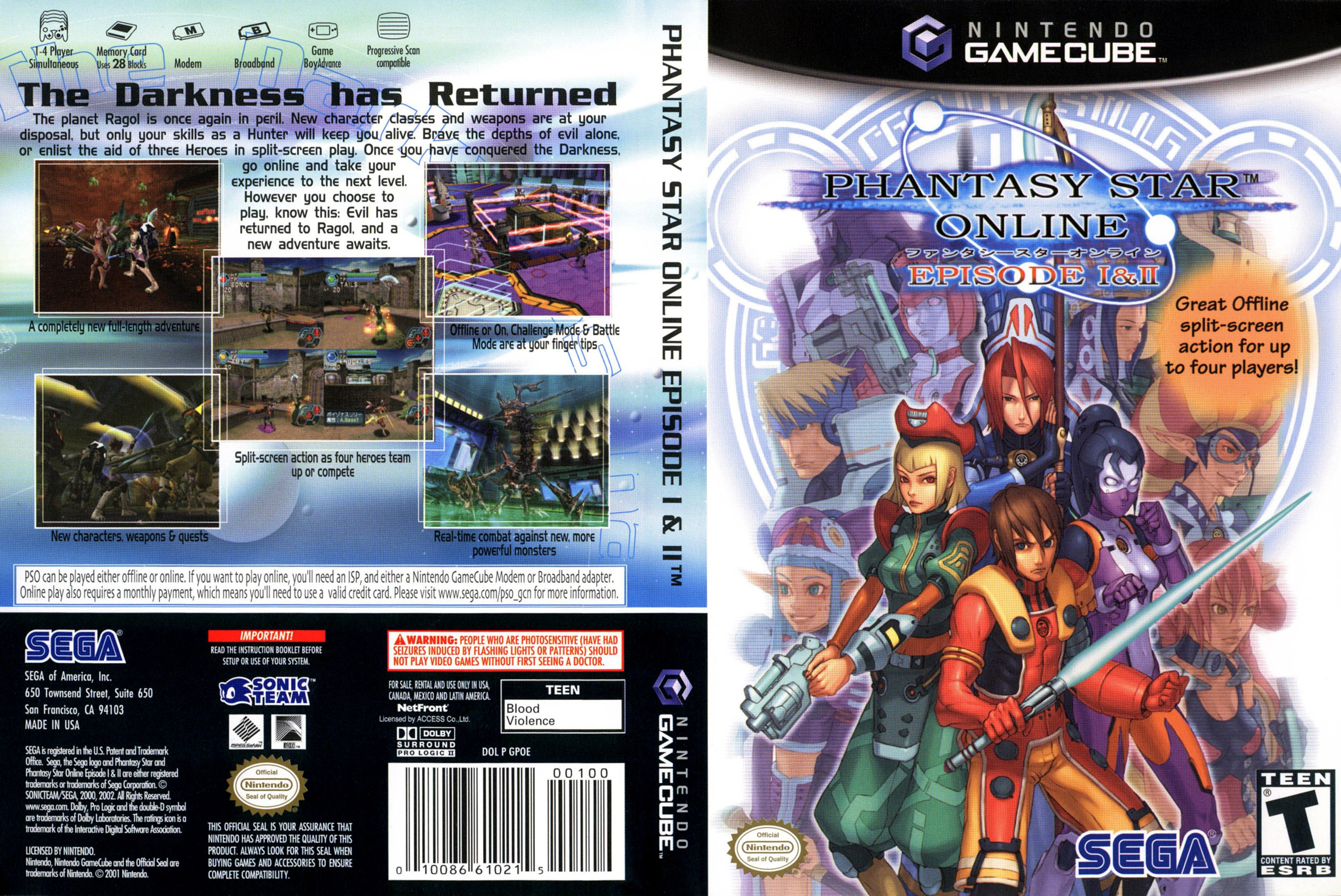 phantasy star online 1 and 2 gamecube iso
