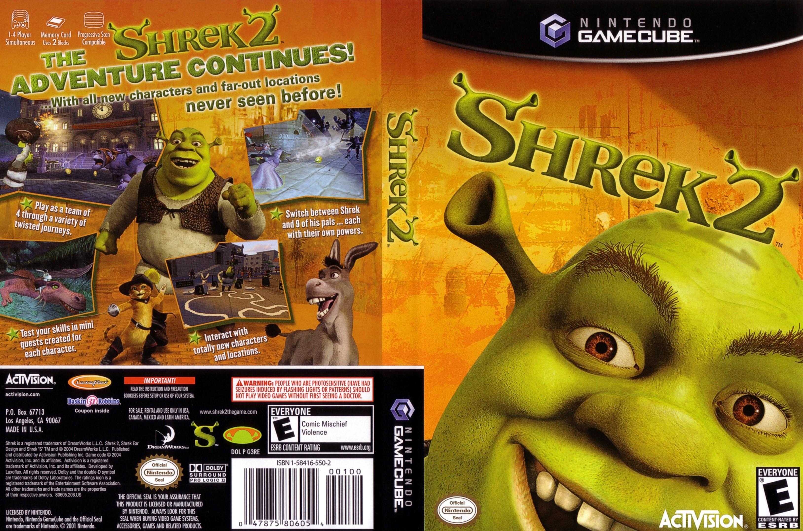 Shrek 2 Iso