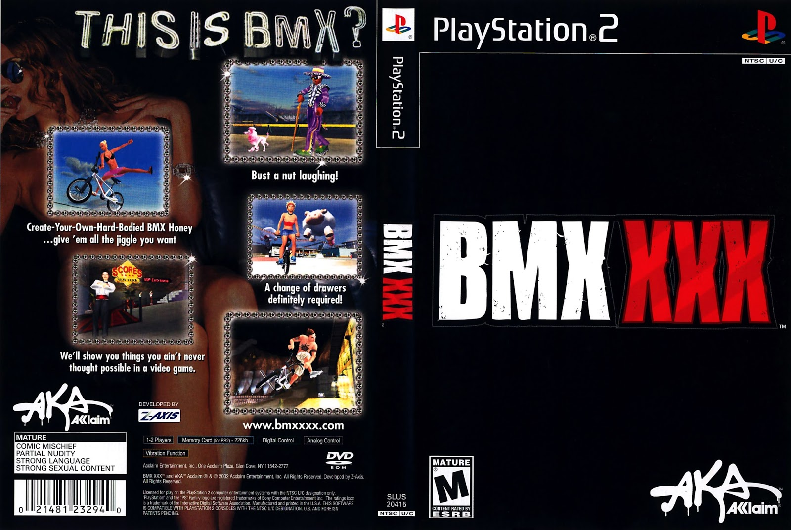 Are xxx playstation games