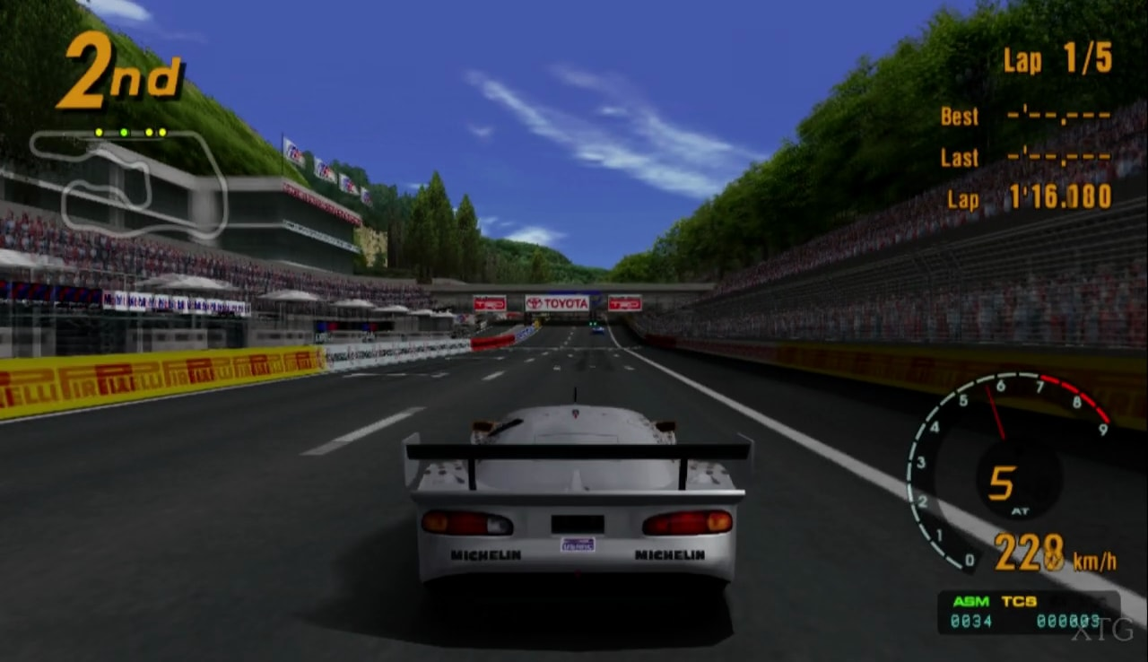 Gran Turismo 3 - A-spec (USA) (v1.00) ISO