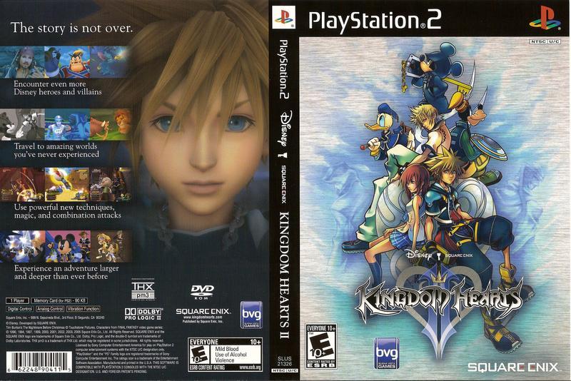 Kingdom Hearts (Spain) ISO < PS2 ISOs | Emuparadise