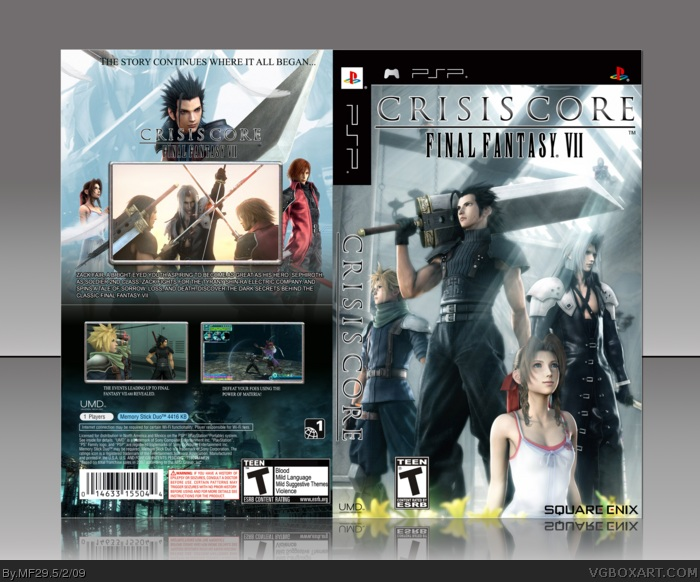 Final fantasy 7 crisis core cso psp download free.