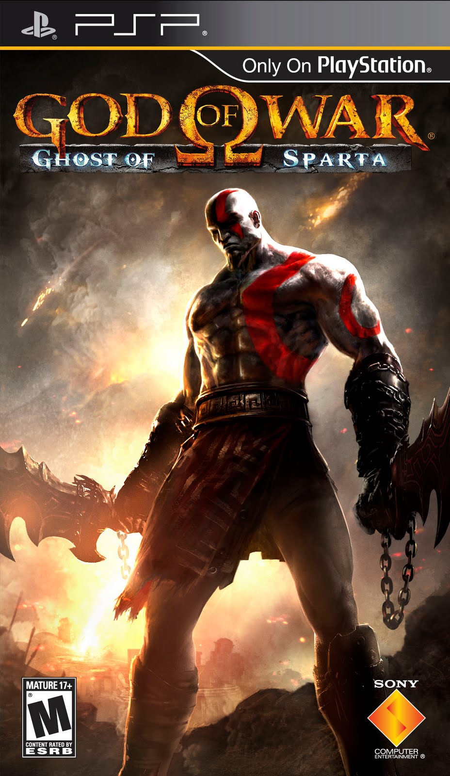 God of war ghost of sparta (usa) iso < psp isos | emuparadise.