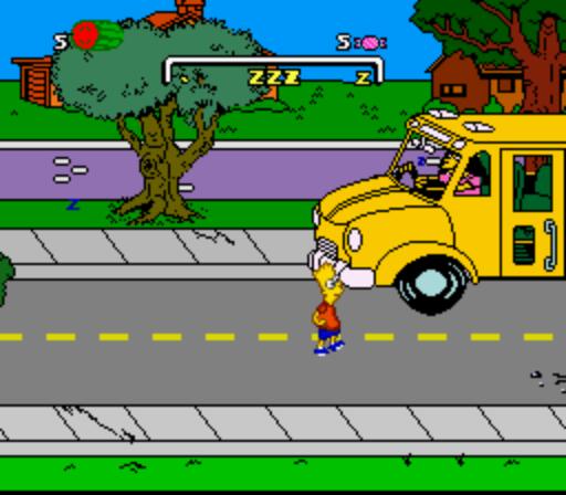 Simpsons The Bart S Nightmare Usa Rom