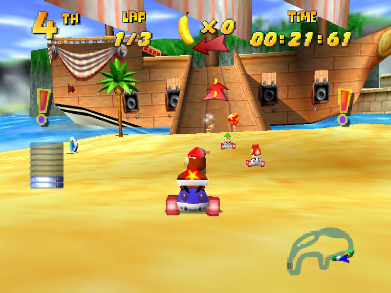 Diddy Kong Racing Usa En Fr Rom