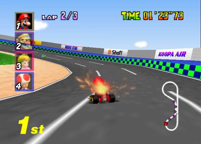 Mario Kart 64 Europe Rom