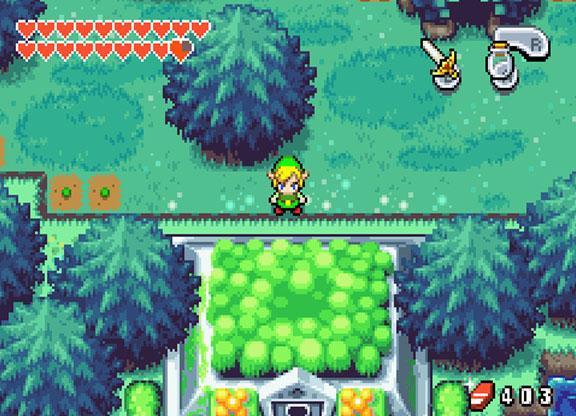 The Legend Of Zelda The Minish Cap U Dcs Rom