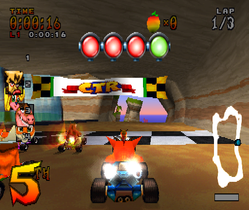 Crash Bandicoot Car Racing Games Online Free