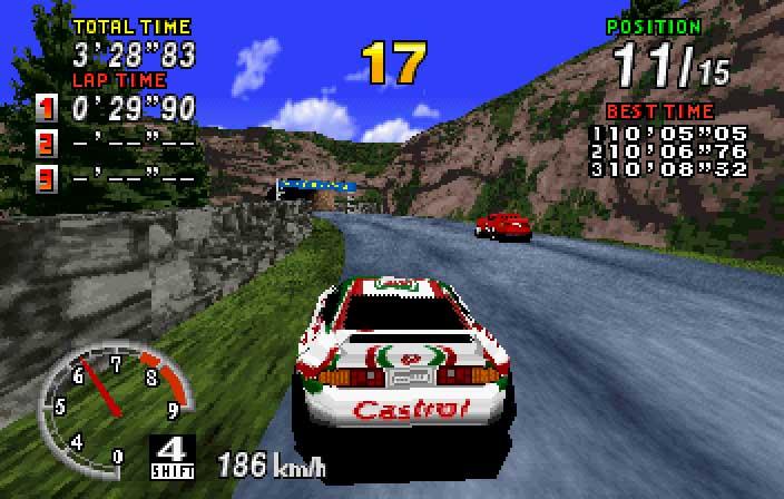 Sega Rally Championship J Iso