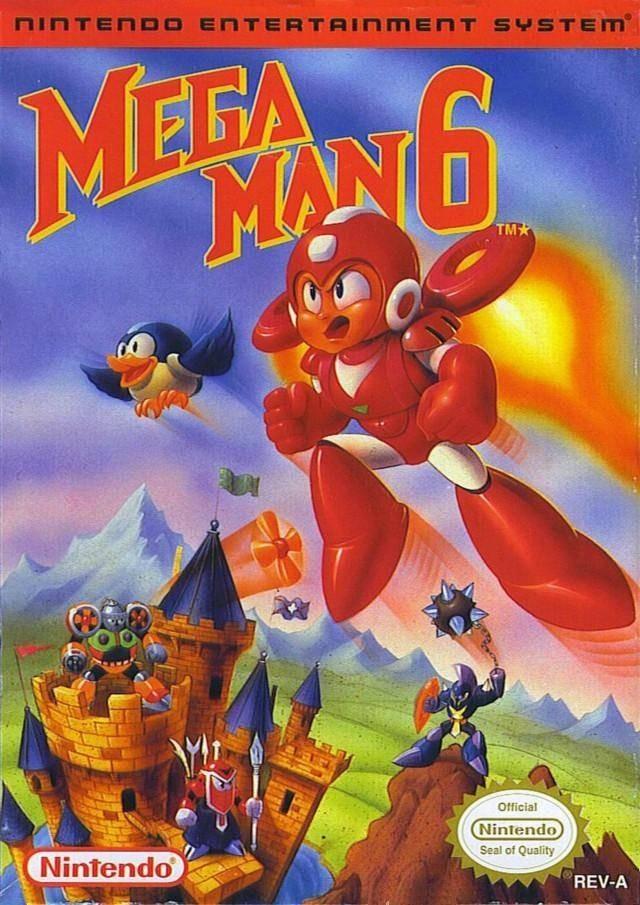 Mega Man 6 Usa Rom