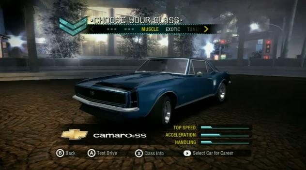 Need For Speed Carbon Iso