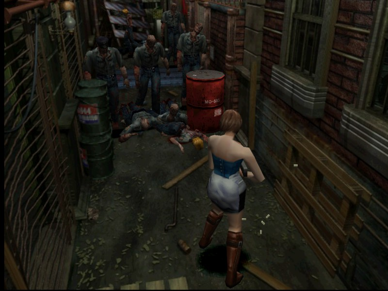 RESIDENT EVIL 3: NEMESIS PARA ANDROID   PLAYSTATION (PSX