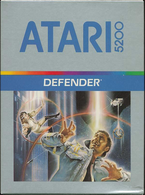 Defender (1982) (Atari) Box Scan - Front