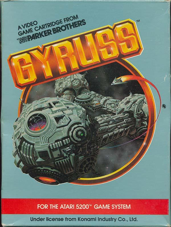 Gyruss (1982) (Parker Bros) Box Scan - Front
