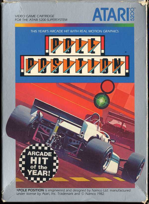 Pole Position (1983) (Atari) Box Scan - Front
