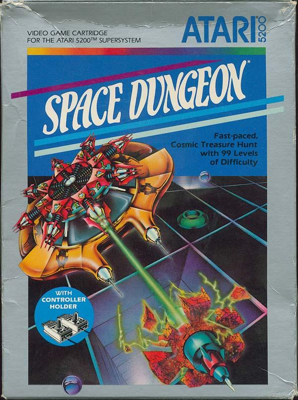 Space Dungeon (1983) (Atari) Box Scan - Front