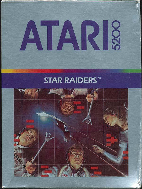 Star Raiders (1982) (Atari) Box Scan - Front