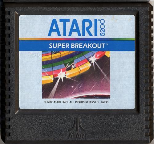 super breakout atari 5200