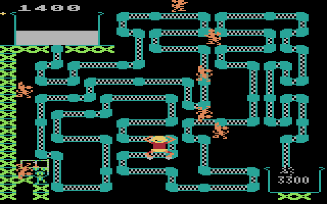 Frisky Tom (1982) (Atari) Screenshot 1