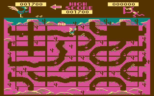 Roadrunner (1982) (Atari) Screenshot 1