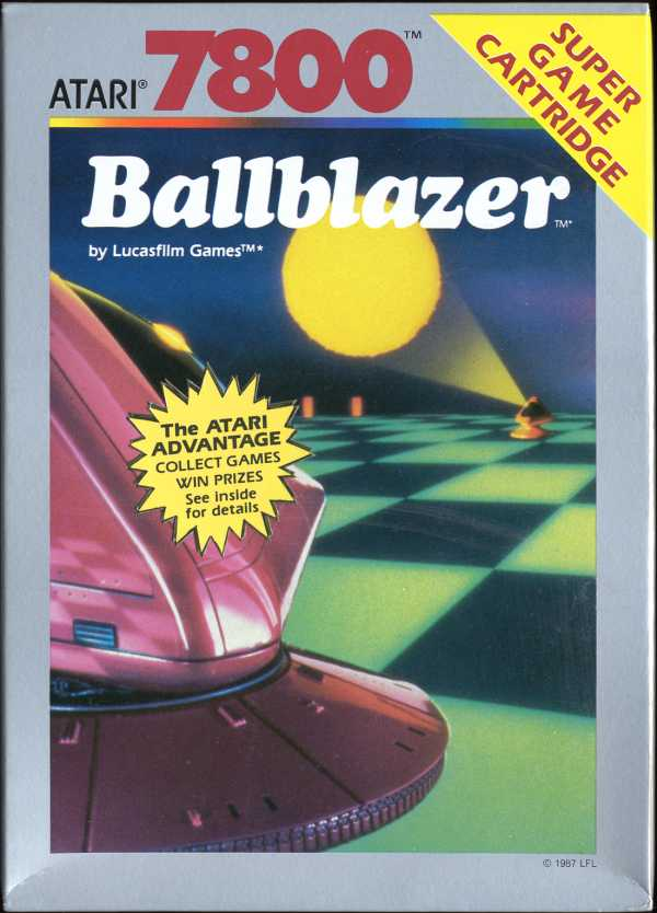 Ballblazer Box Scan - Front