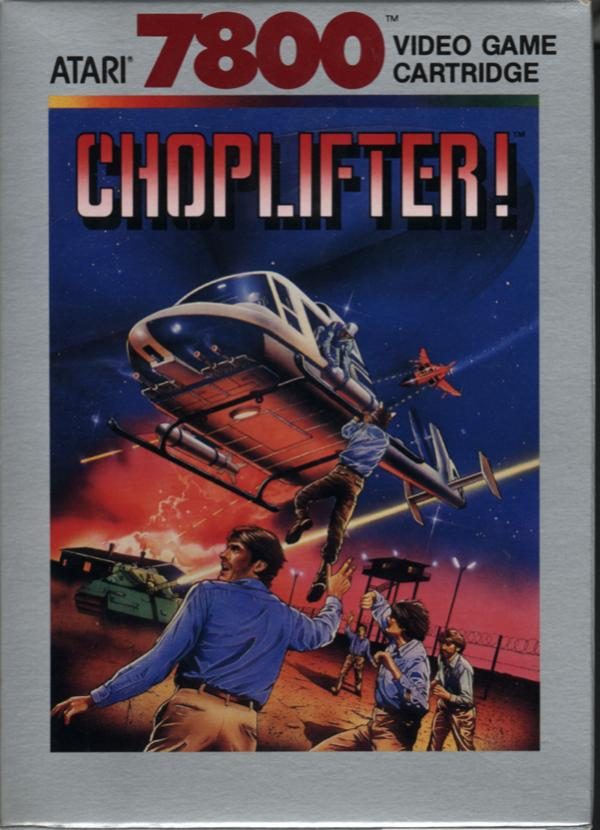 Choplifter Box Scan - Front