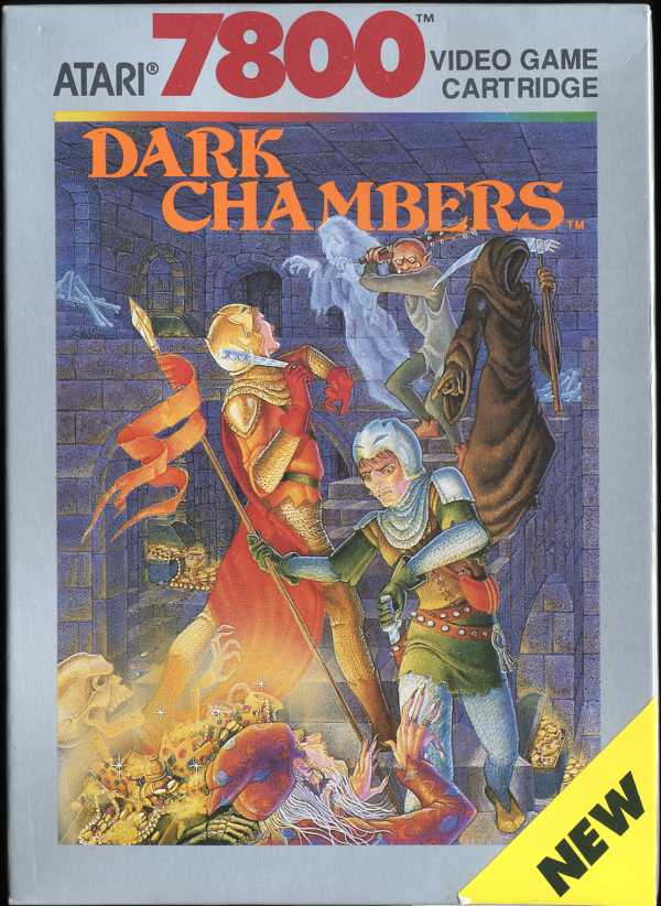 Dark Chambers Box Scan - Front