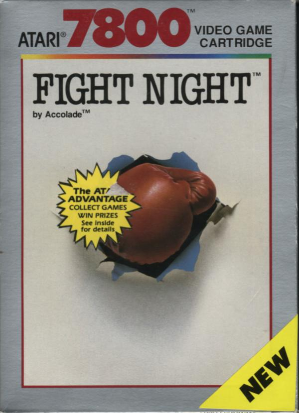 Fight Night Box Scan - Front