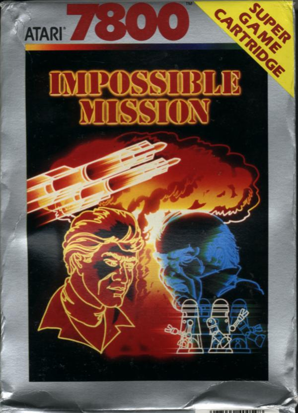 Impossible Mission Box Scan - Front