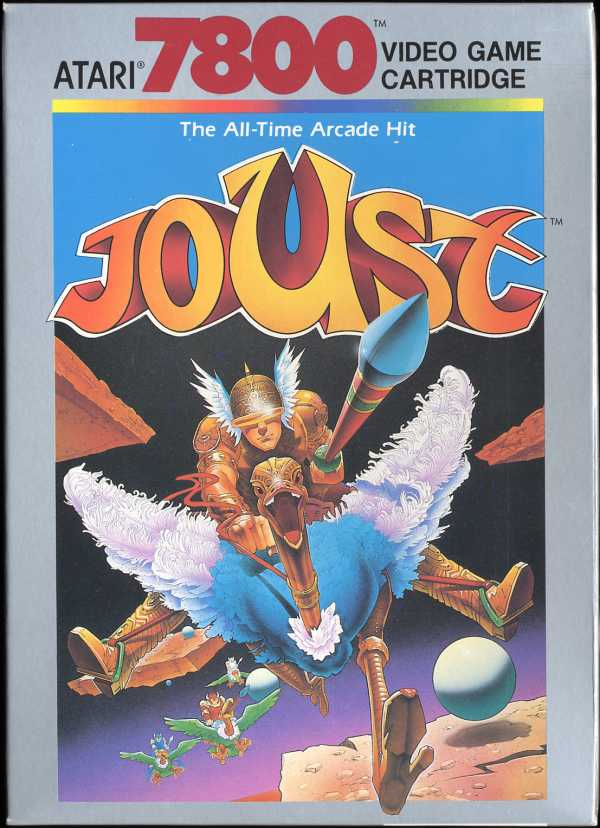Joust Box Scan - Front