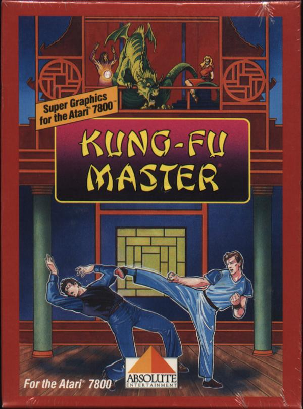 Kung-Fu Master Box Scan - Front