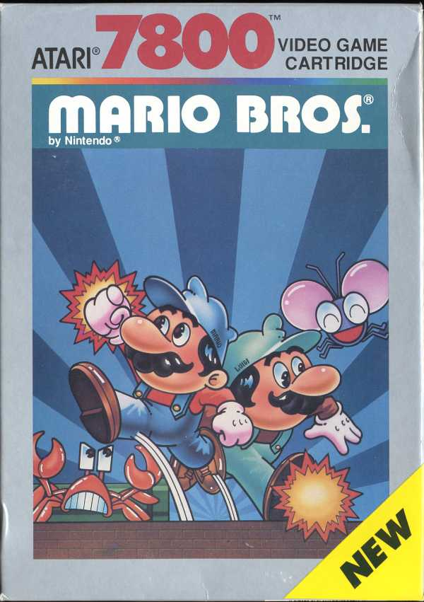 Mario Bros Box Scan - Front