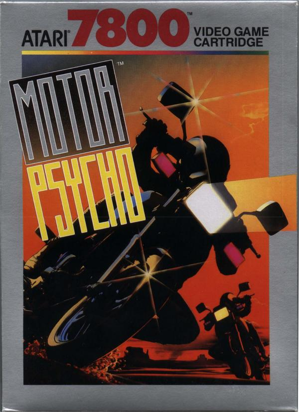 Motor Psycho Box Scan - Front