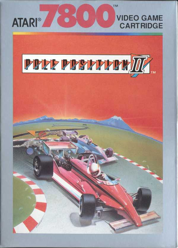 Pole Position 2 Box Scan - Front