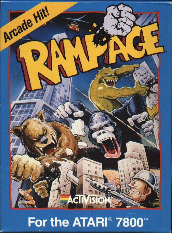Rampage Box Scan - Front