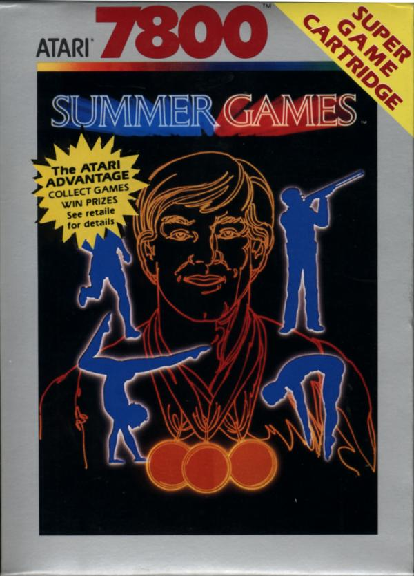 Summer Games Box Scan - Front