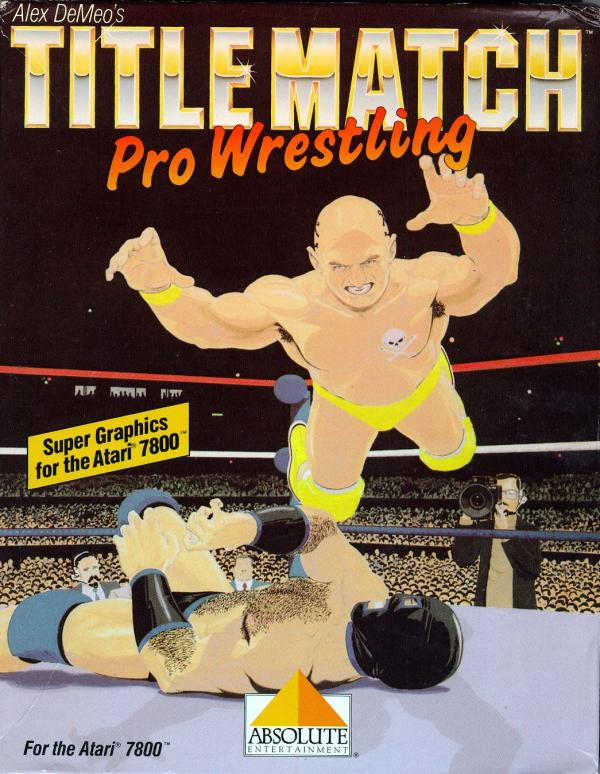 Title Match Pro Wrestling Box Scan - Front