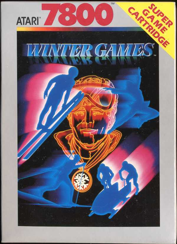 Winter Games Box Scan - Front