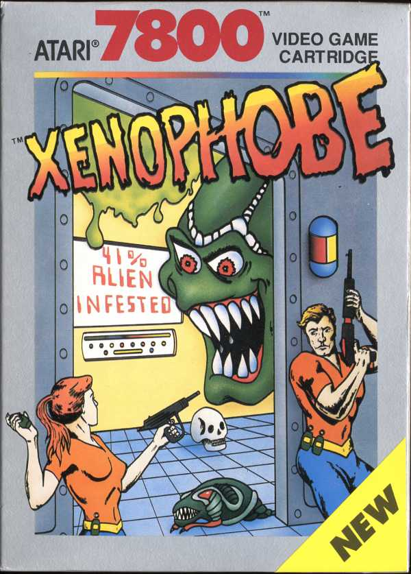 Xenophobe Box Scan - Front
