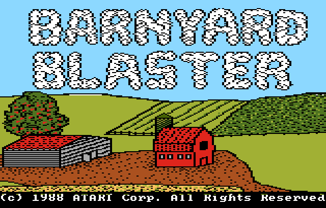 Barnyard Blaster Screenshot