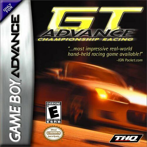 GT Advance - Championship Racing (U)(The Corporation) Box Art
