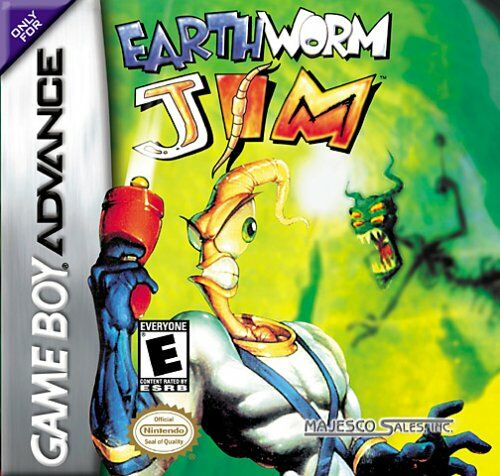 Earthworm Jim (U)(Mode7) Box Art