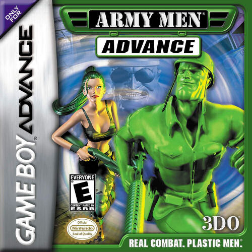 Army Men Advance (U)(Eurasia) Box Art