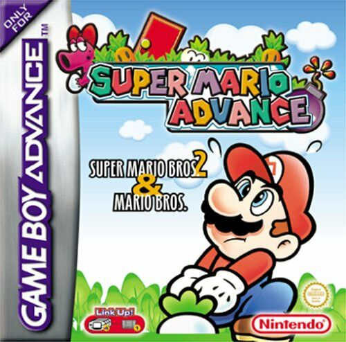 Super Mario Advance (E)(Cezar) Box Art
