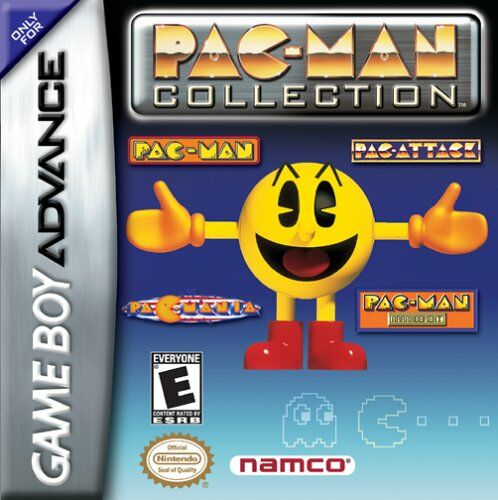 Pac-Man Collection (U)(Mode7) Box Art