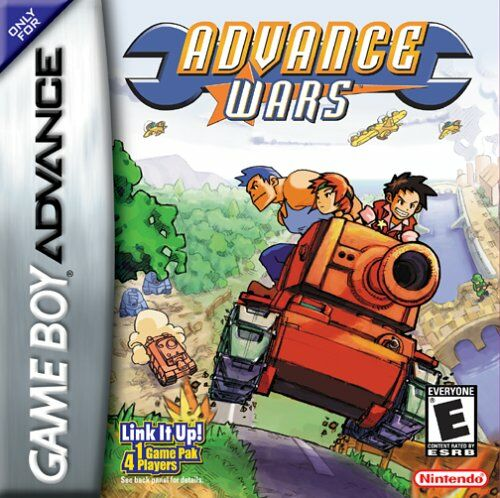 Advance Wars (U)(Mode7) Box Art