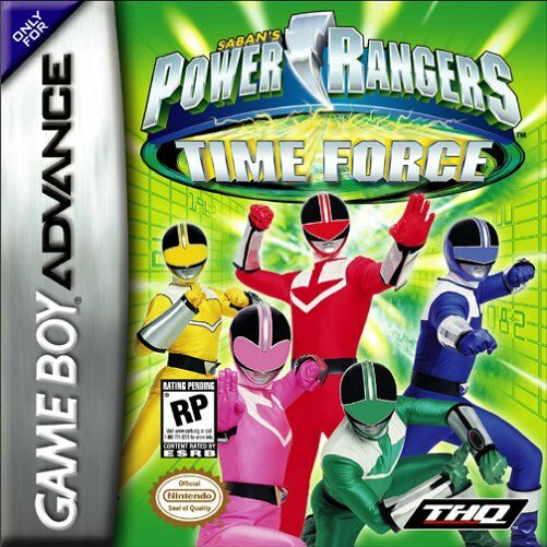 Power Rangers - Time Force (U)(Mode7) Box Art