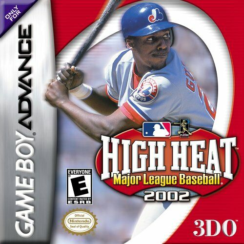 High Heat - Major League Baseball 2002 (U)(Mode7) Box Art