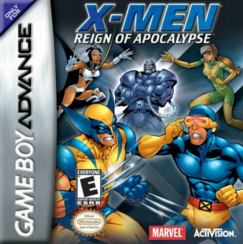 X Men Reign Of Apocalypse U Venom Rom Gba Roms Emuparadise