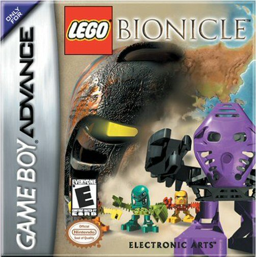 Lego Bionicle (U)(Mode7) Box Art
